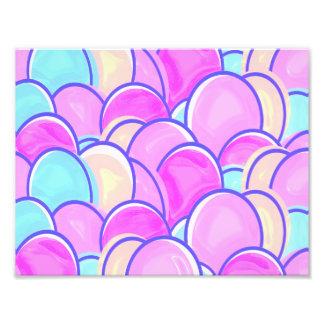 easter eggs pastel photo