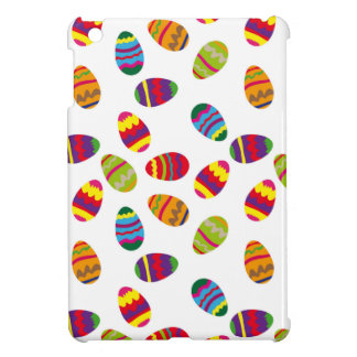 Easter eggs pattern iPad mini cover