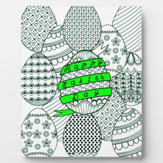 Easter Eggs Plaque