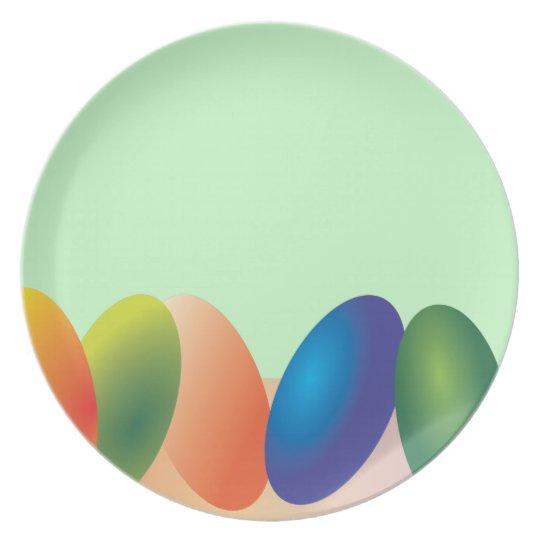 Easter Eggs Plate