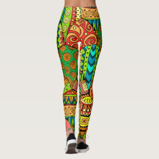 Easter Eggs Pop Fashion Leggings
