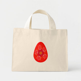Easter eggs set. Spring. Holidays in April. Gift. Mini Tote Bag