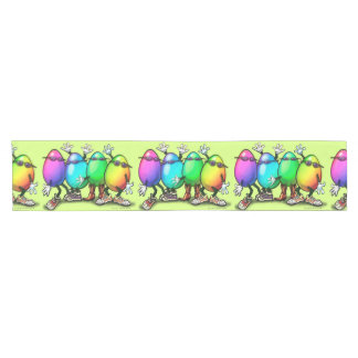 Easter Eggs Short Table Runner
