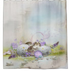 Easter Eggs Shower Curtain