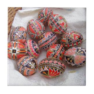 Easter Eggs Tile