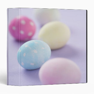 Easter eggs vinyl binder