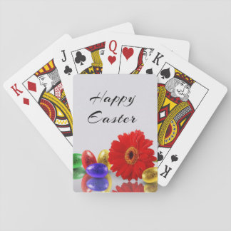 Easter Eggs with Gerbera - Playing Card Deck