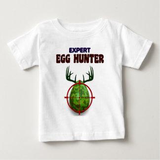 Easter expert Hunter, egg deer target shooter, fun Baby T-Shirt