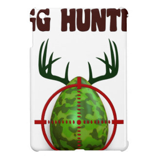 Easter expert Hunter, egg deer target shooter, fun Case For The iPad Mini