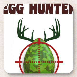 Easter expert Hunter, egg deer target shooter, fun Coaster