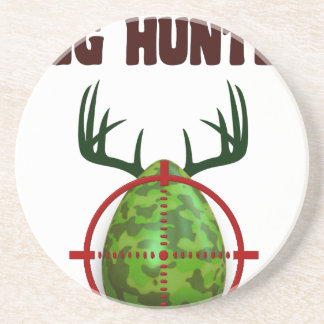 Easter expert Hunter, egg deer target shooter, fun Coaster