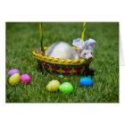 Easter Ferret Greeting Card