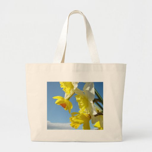 EASTER Flowers 15 Daffodil TOTE BAGS Canvas Bag