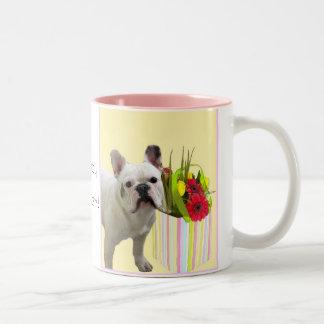 Easter French Bulldog  mug