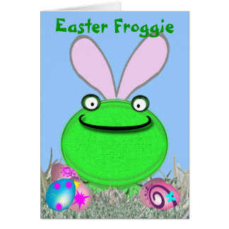 Easter Froggie Card