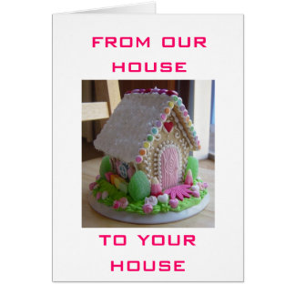From our house to yours gifts on zazzle ca easter from our house to yours easter house card negle Images