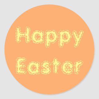 Easter Frosty Orange Sticker by Janz
