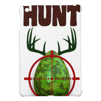 easter funny design, Born to hunt deer egg shooter Cover For The iPad Mini