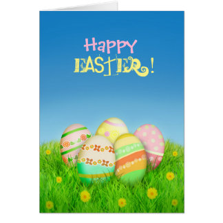 Easter Funny Eggs Card
