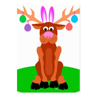 Easter Gift Tags Large Business Card