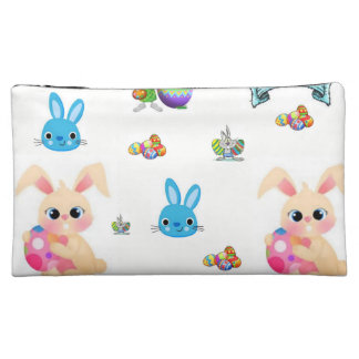 easter girls baggette cosmetic bag