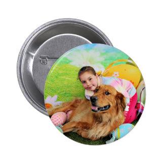 Easter - Golden Retriever - Beam Pin