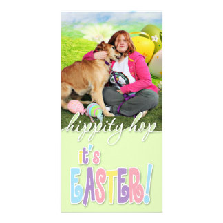 Easter - Golden Retriever - Sandy Picture Card