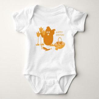 Easter Greeting Baby Bodysuit