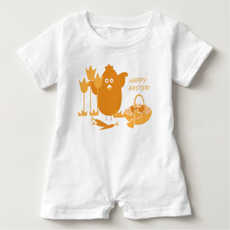 Easter Greeting Baby Romper