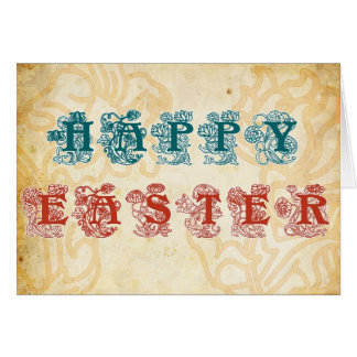Easter Greeting Card, Happy Easter
