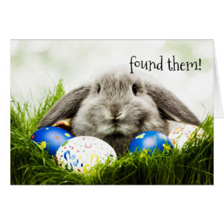 Easter Greeting - Found Them! Card
