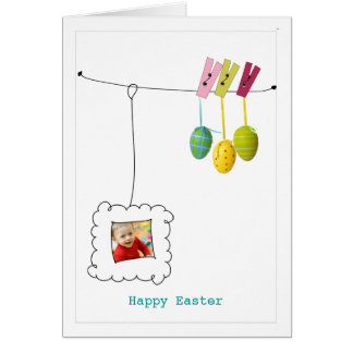 Easter Greeting Photo Card