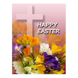 Easter Greetings Post Card