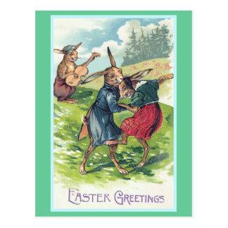 Easter Greetings Vintage Easter Postcard