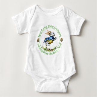 EASTER - Here Comes Peter Cottontail Baby Bodysuit