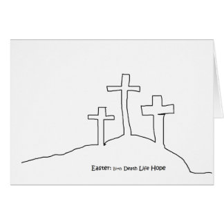 Easter Hope Greeting Card