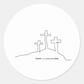 Easter Hope Round Sticker