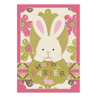 Easter Hunt Gift Tag Business Card Template