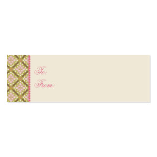 Easter Hunt Skinny Gift Tag 2 Mini Business Card