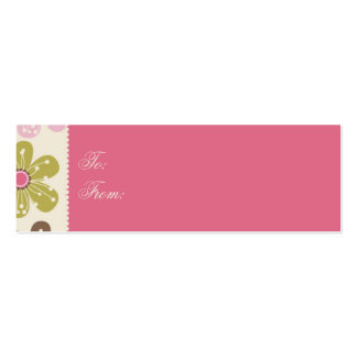 Easter Hunt Skinny Gift Tag Mini Business Card