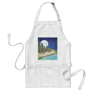 Easter Island Standard Apron