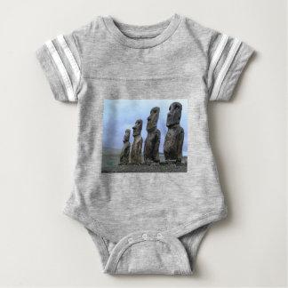 Easter-Island Baby Bodysuit