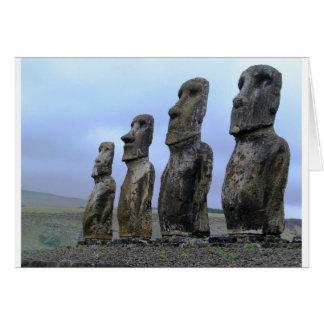 Easter-Island Card