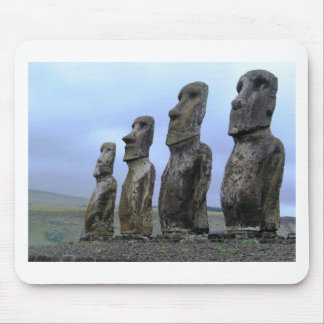 Easter-Island Mouse Pad