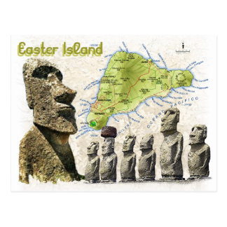 Easter Island Post Cards