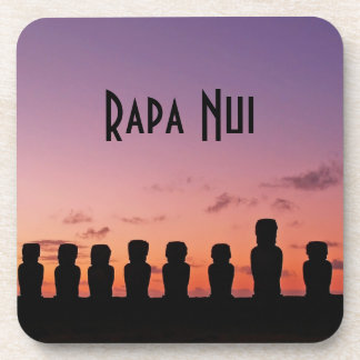 Easter Island Rapa Nui  Chile South America Coaster