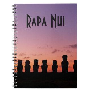 Easter Island Rapa Nui  Chile South America Notebooks