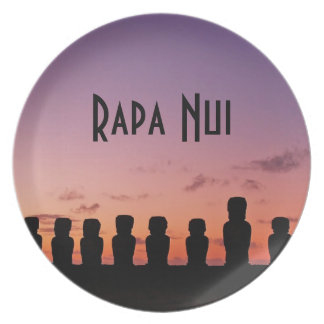 Easter Island Rapa Nui  Chile South America Plate