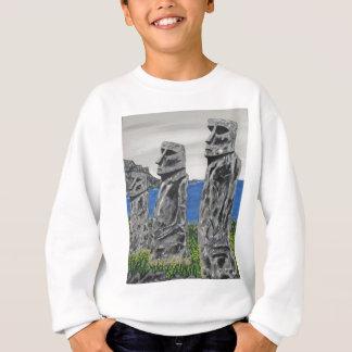 Easter Island Stone Men Sweatshirt