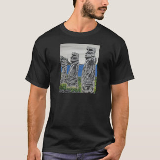 Easter Island Stone Men T-Shirt